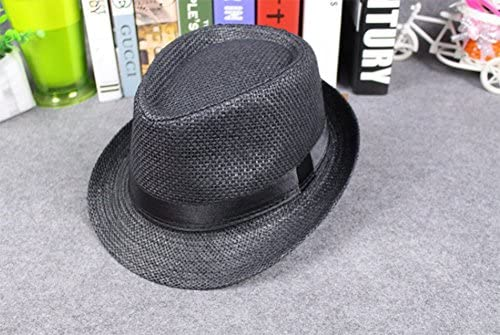 Demarkt Sombrero de Sol de Paja de Playa Hombres Topper Estilo ...