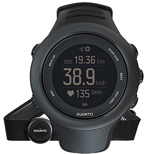 Suunto Ambit3 Sport/HRT Rate Monitor Watches Black