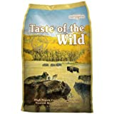 Taste of the Wild Dry Dog Food - High Prairie Canine Formula with Roasted Bison and Venison