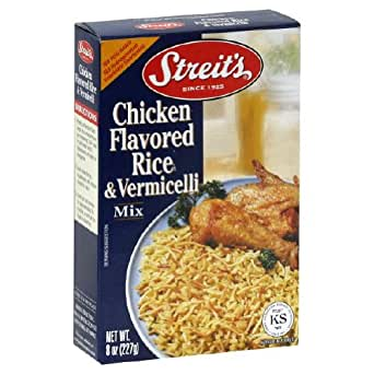 Amazon.com: Streits Chicken Flavored Rice and Vermicelli