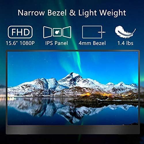 Portable Monitor – Cocopar Portable Display with HDMI Port (Black) 51 54IQkHOL