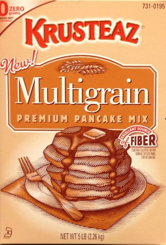 Krusteaz Multi-Grain Pancake Mix, 5-Pound (Pack of - 5 Lb Pancake