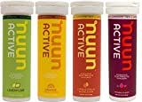 New Nuun Active: Hydrating Electrolyte Tablets, Citrus Berry Mix, Box of 4 Tubes