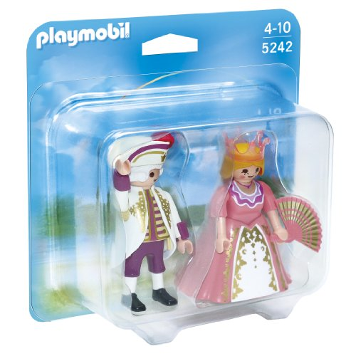 playmobil 6378 le roi et la reine emballage plastique pas de bo te. Black Bedroom Furniture Sets. Home Design Ideas