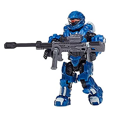 Mega Construx Halo Heroes Series 4 Spartan Madsen Figure: Toys & Games