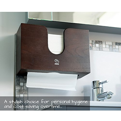 Paper Towel Dispenser For Kitchen Amp Bathroom Wall Mount