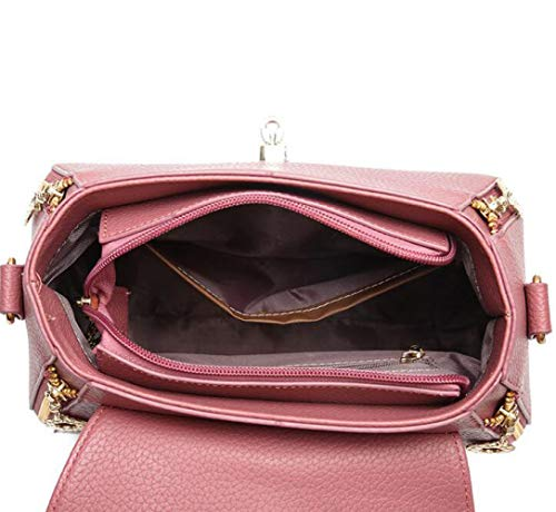 Simple Bandoulière à Main Bandoulière Sac Sac Pink Main Sacs Sac BAILIANG Décontracté Sauvage à à Ladies 4zw6X6