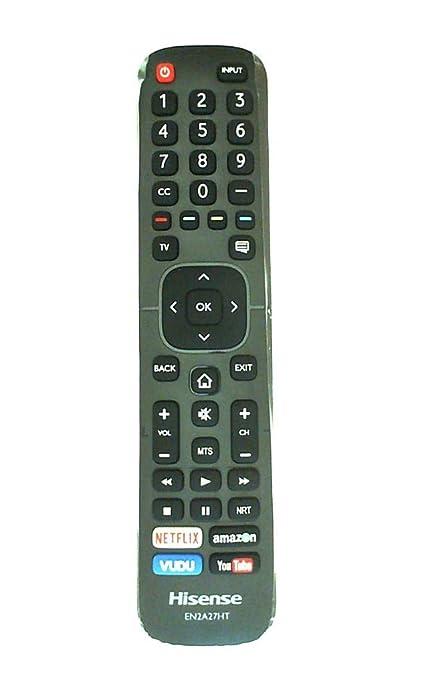Amazon com: Hisense EN2A27HT Remote Control for 43H6D: Home