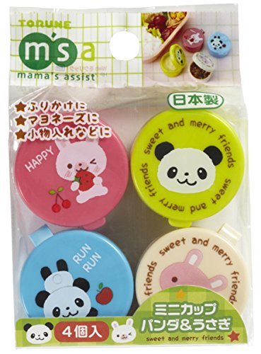 CuteZCute P-3080 Food Pick, Bento Box, Mini, Blue, Pink, Green, Cream ()
