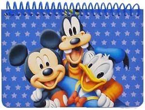 Disney Mickey Mouse y sus amigos espiral de autógrafos del