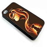 img - for Disney Lion King Simba Tinkerbell Case (iPhone 6 plus Black) book / textbook / text book