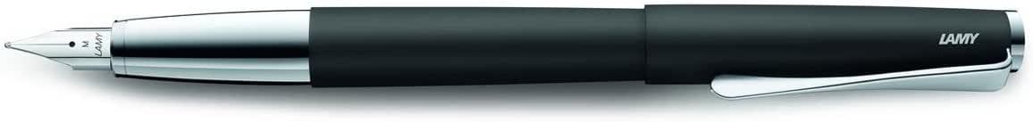 LAMY studio Medium Nib Fountain Pen - Black Purple