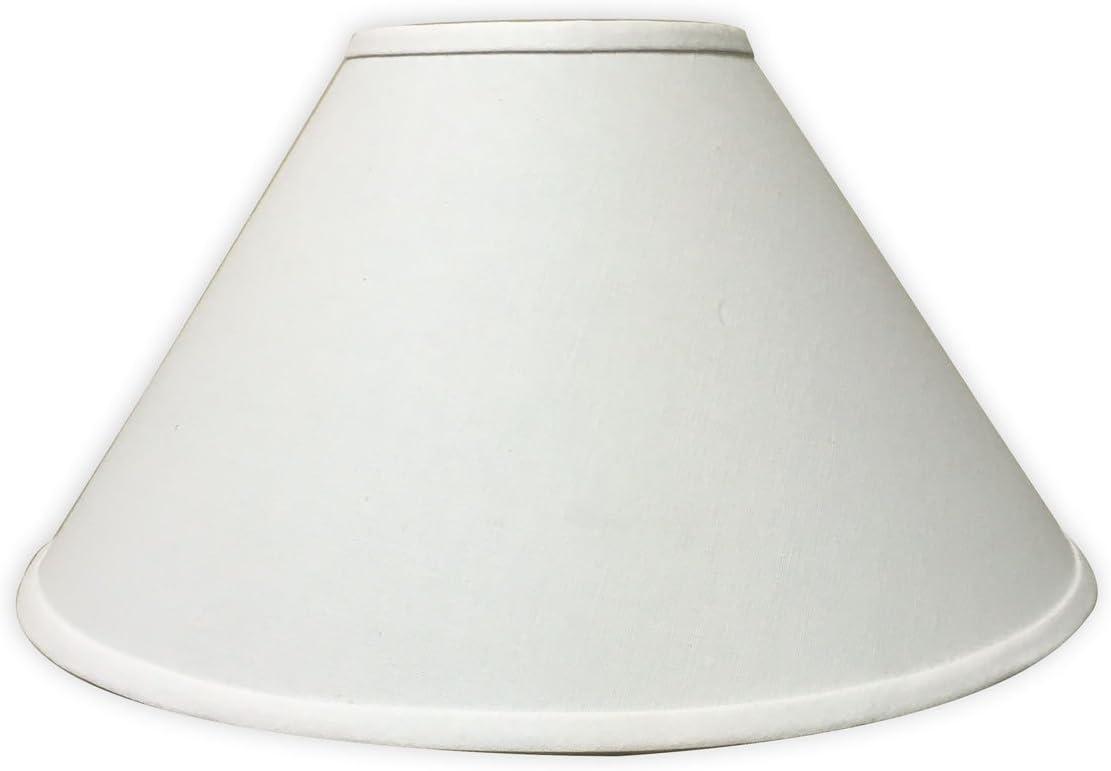 Royal Designs, Lamp Shade, Fabric, Linen White