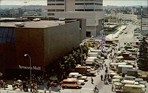 Syracuse Mall and Farmer's Market Syracuse, New York Original Vintage - Mall York Syracuse New