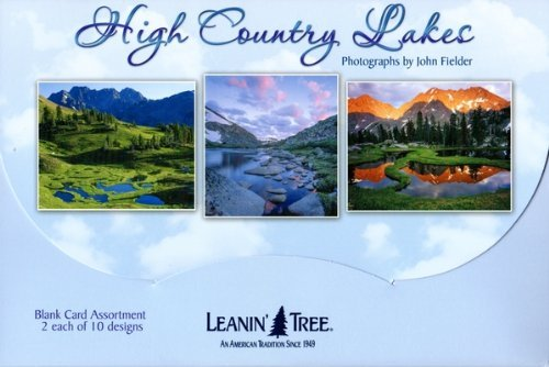 Missing Memory Box Color (High Country Lakes by John Fielder [AST90765] Blank Card Assortment - 20 cards with full-color interiors and 22 designed envelopes)