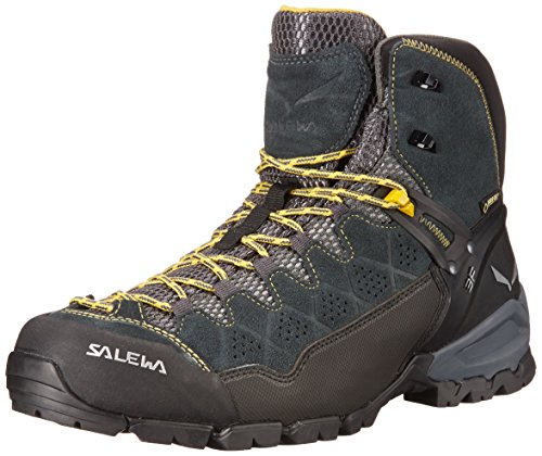 Mid Backpacking Boot Gtx (Salewa Men's Alp Trainer Mid GTX Alpine Trekking Boot,  carbon/ringlo,  11 D US)