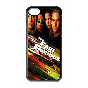 DDOUGS furious 7 High Quality Cell Phone Case for Iphone 5C, Personalized furious 7 Case
