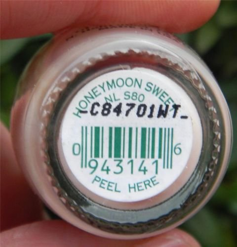 """HONEYMOON SWEET - NL S80 Nail Polish Lacquer .5oz 1 Bottle """" Discontinued """""""