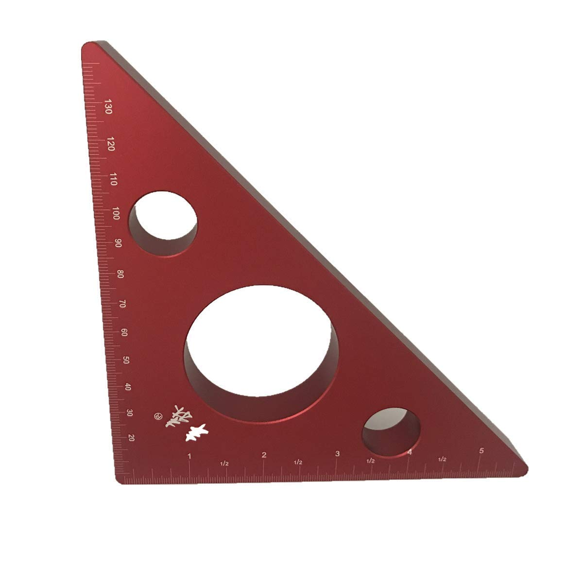 Aluminum Alloy Speed Square Protractor Miter Framing Tri-square Line Scriber Saw Guide Triangle Ruler