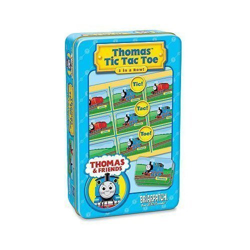 (Thomas Tic Tac Toe Game Tin by Briarpatch,)