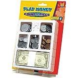 Educational Insights Play Money - Coins &Bills Tray