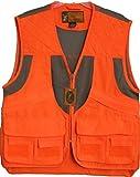 Trail Crest Men's Blaze Orange Safety Deluxe Front Loader Vest W/ Magnet