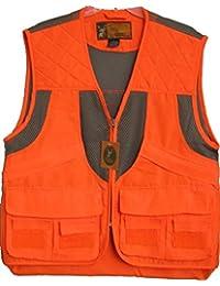 Men's Blaze Orange Safety Deluxe Front Loader Vest