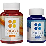 PAGG 4 STACK 30-Day Supply -Burn Fat and Gain Muscle- Full Dosage as Seen in The 4 Hour Body by Tim Ferriss - Made in USA