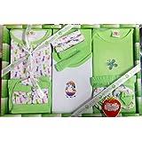 Mini Berry Baby Station Gift Set-13 Pcs New Born (Green)