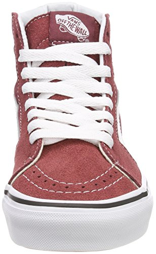 Adulto Alto Classic Unisex White Sneaker Apple Collo Canvas True Suede Rosso a Butter Vans Hi SK8 Q9s 8EqvHH
