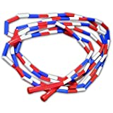 CSI Cannon Sports Segmented Jump Rope, Red, White and Blue