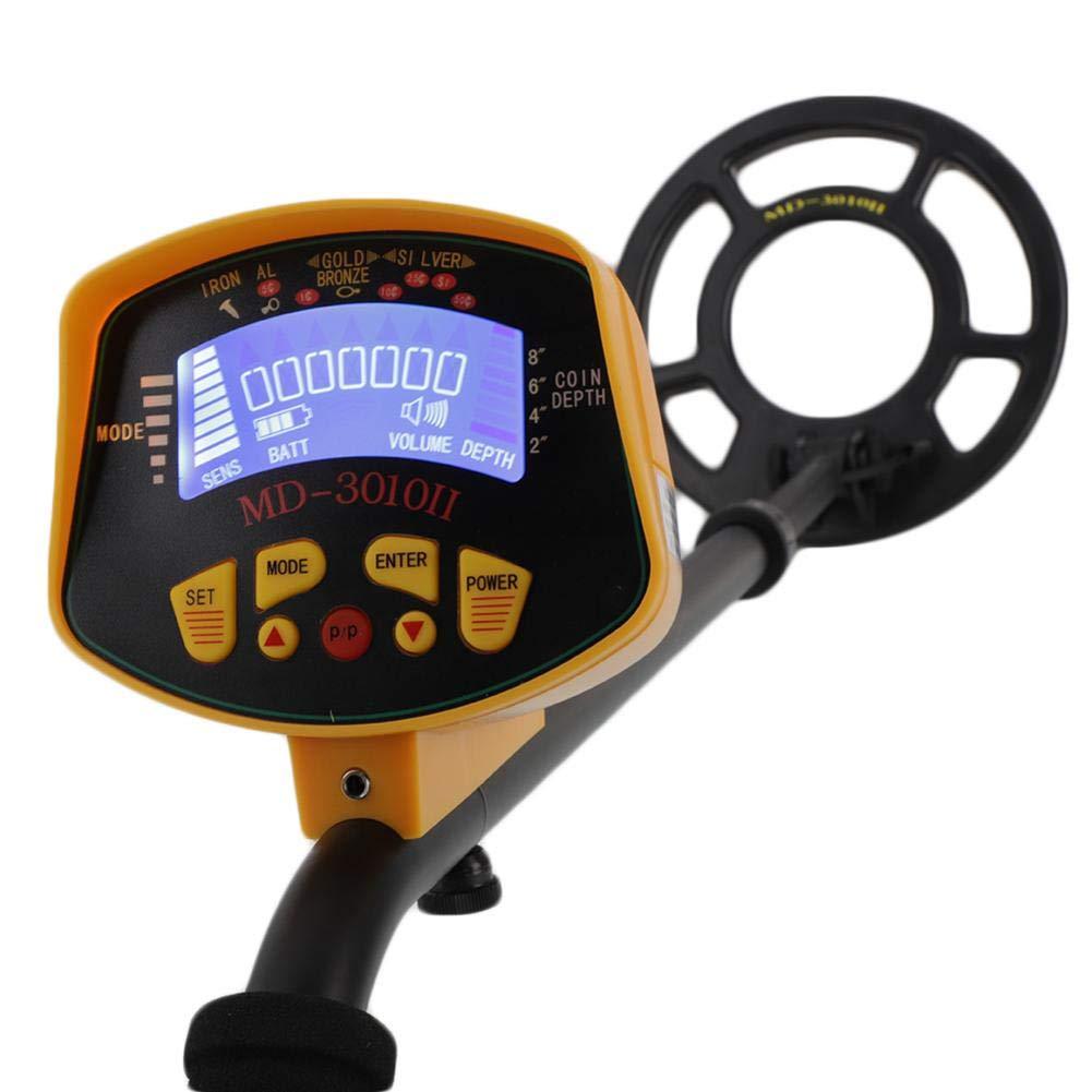 Amazon.com : Rainrian27 MD3010II Underground Metal Detector Gold Digger Treasure Waterproof : Garden & Outdoor