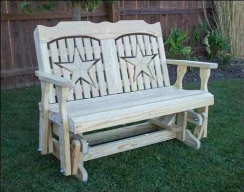 60″ Treated Pine Starback Glider Review