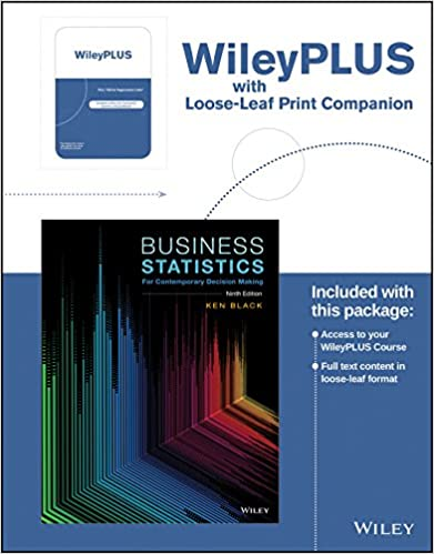 Business Statistics For Contemporary Decision Making 9th