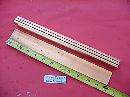 "5 Pieces 1//4/""x 1-1//2/"" C110 COPPER BAR 24/"" long Solid Flat .25/"" Bus Bar Stock H02"