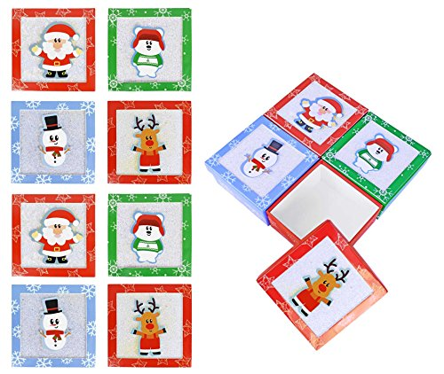 Set of 12 Christmas/Holiday Money/Gift Card Holder Gift Boxes 4.5