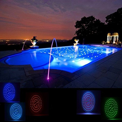 Mekar 120v 35w Led Swimming Pool Light Bulb Rgb Color Changing Options With Remote Switch