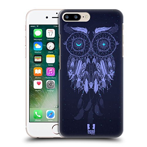 Head Case Designs Blu Lunare Acchiappasogni 3 Cover Retro Rigida per Apple iPhone 7 Plus / 8 Plus