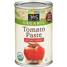 365 Everyday Value, Organic Tomato Paste, 6 oz