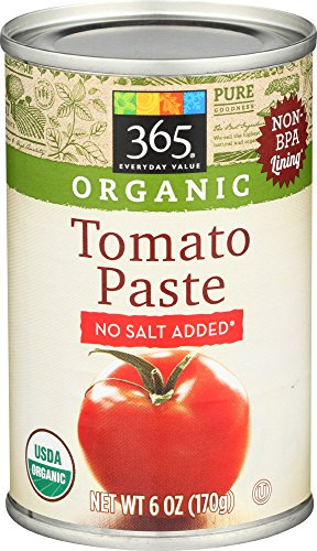 365 Everyday Value, Organic Tomato Paste, 6 oz
