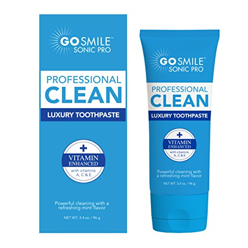 (GoSmile Luxury Toothpaste, Mint, 3.4 Ounce)