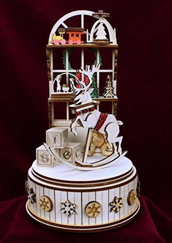 新品即決 ジンジャーコテージ – – Santa Santa 'sワークショップ音楽ボックス – – gcm108 B01K38QBEM, 大仁町:815e28ba --- arcego.dominiotemporario.com