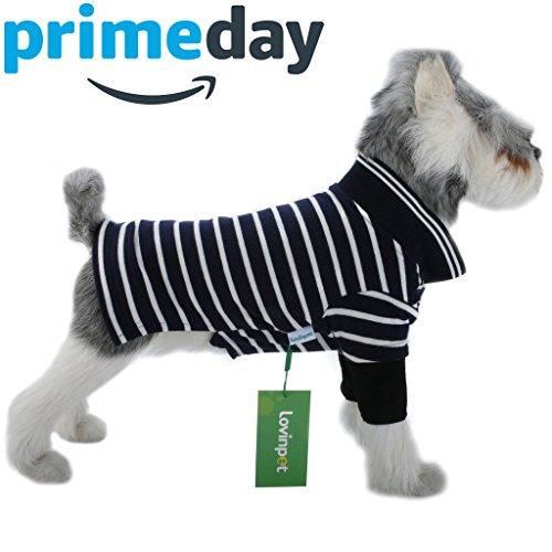 Polo Dog Dress - LovinPet Dog Shirts Polo Cotton Outdoor Dog Clothes Dog Dress Shirt 4 Colors (Please Read Description)