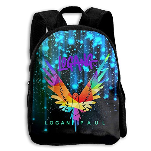 CMJJJR4 Logan-paul-Maverick 3D Kids Customized Backpack School Bags