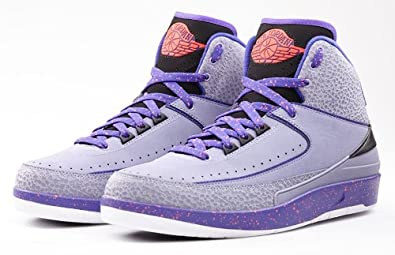 4fbf0b52a831 Image Unavailable. Image not available for. Color  nike air jordan 2 retro  mens hi top basketball trainers 385475 sneakers ...