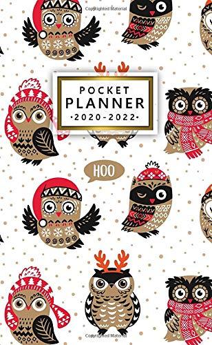 Christmas Trends 2020-2022 Amazon.com: 2020 2022 Pocket Planner: Cute Christmas Owls Three
