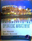 Principles of Operations Management, Heizer, Jay H. and Render, Barry, 013101613X