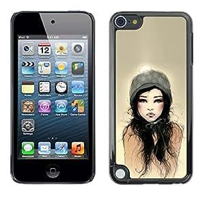 For Apple iPod Touch 5 , S-type® Dad Woman Sun Watercolor - Arte & diseño plástico duro Fundas Cover Cubre Hard Case Cover