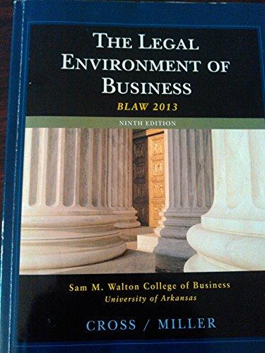 Legal Environment Of Business >Custom<
