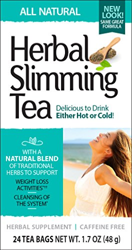 (21st Century Slimming Tea, Natural, 24 Count (Pack of 3))